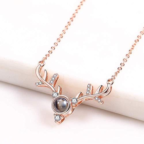 Ketting voor vrouwen Dainty Handgemaakte hanger Chain Minimalistische Jewelry Moederdag Jewelry Gift, sterling zilveren hanger ketting, Love ketting