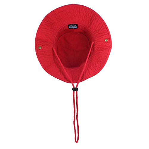 Product Image 4: Gelante 100% Cotton Stone-Washed Safari Booney Sun Hats 1910-Red-S/M