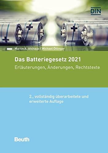 Das Batteriegesetz 2021 - Buch mit...