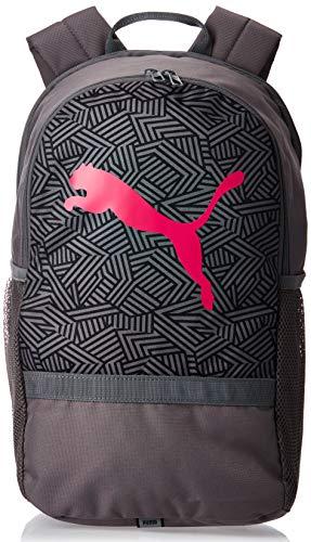 PUMA Unisex– Erwachsene Beta Backpack Rucksack, Castlerock-Bright Rose, OSFA