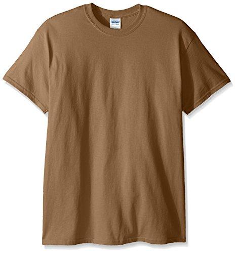 Gildan Men's G2000 Ultra Cotton Adult T-shirt, Tan, Large