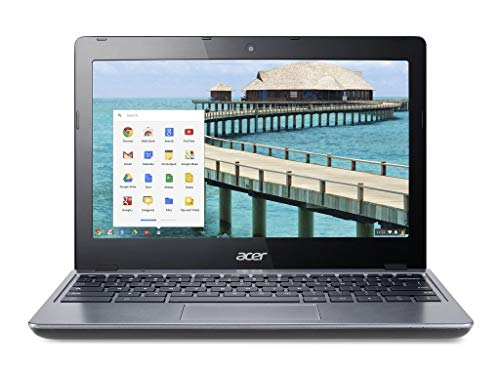 Acer Chromebook C720 Touchscreen 11.6' Laptop Black - 2GB RAM 16GB SSD HD Intel 2955U 1.4GHz WiFi Google Chrome Bluetooth Webcam C (Renewed)