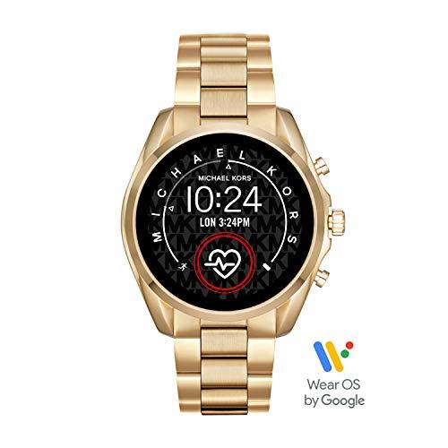 Michael Kors Smartwatch Touchscreen Connected Donna con Cinturino in Acciaio Inossidabile MKT5085, Oro