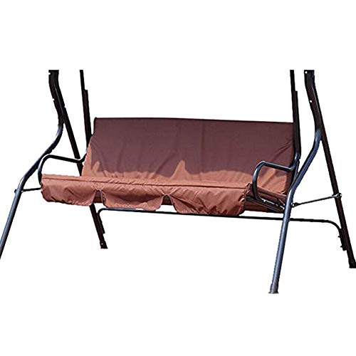Swing Cushion Cover, Waterproof 3 Seater Swing Seat Cover Bench Cushion Covers Chair Protection for Outdoor Garden Patio Hammock - 150X50X10cm