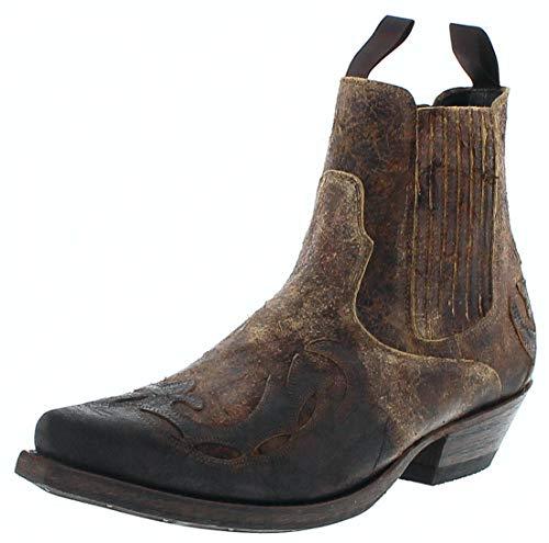 Mayura Boots Herren Cowboy Stiefel 1931 Westernstiefelette Lederstiefelette Braun 42 EU