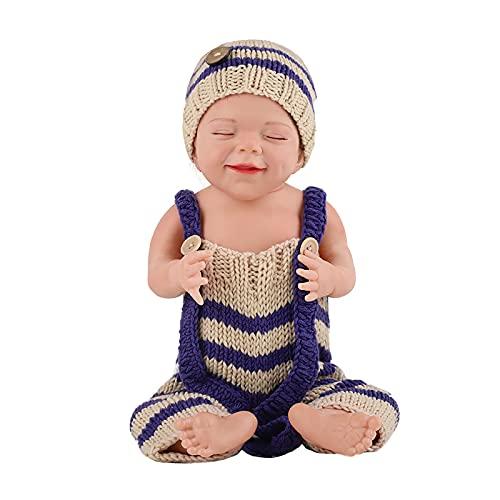 TTWLJJ Muñecas recién Nacidas, De La Simulación Renacer Muñeca 50 Cm 20Pulgadas Vinilo bebé para niños Regalo de cumpleaños