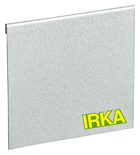 IRKA Verbinder verzinkt Rasenkantenband 25cm | Alu/Zink Metall Rasenkante Anschluss | flexibel Rasenkanten aus Galvalume | Stabile Beeteinfassung Metall Erweiterung| Verbindungsstück im Garten