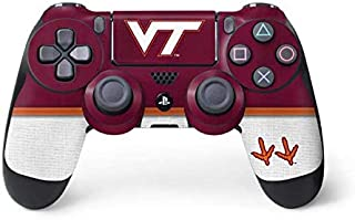 Skinit Decal Gaming Skin for PS4 Controller - Officially Licensed College Virginia Tech Design