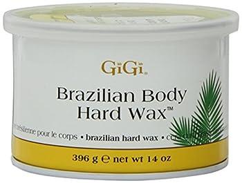 Gigi Tin Brazilian Body Hard Wax 14 Ounce  414ml   3 Pack