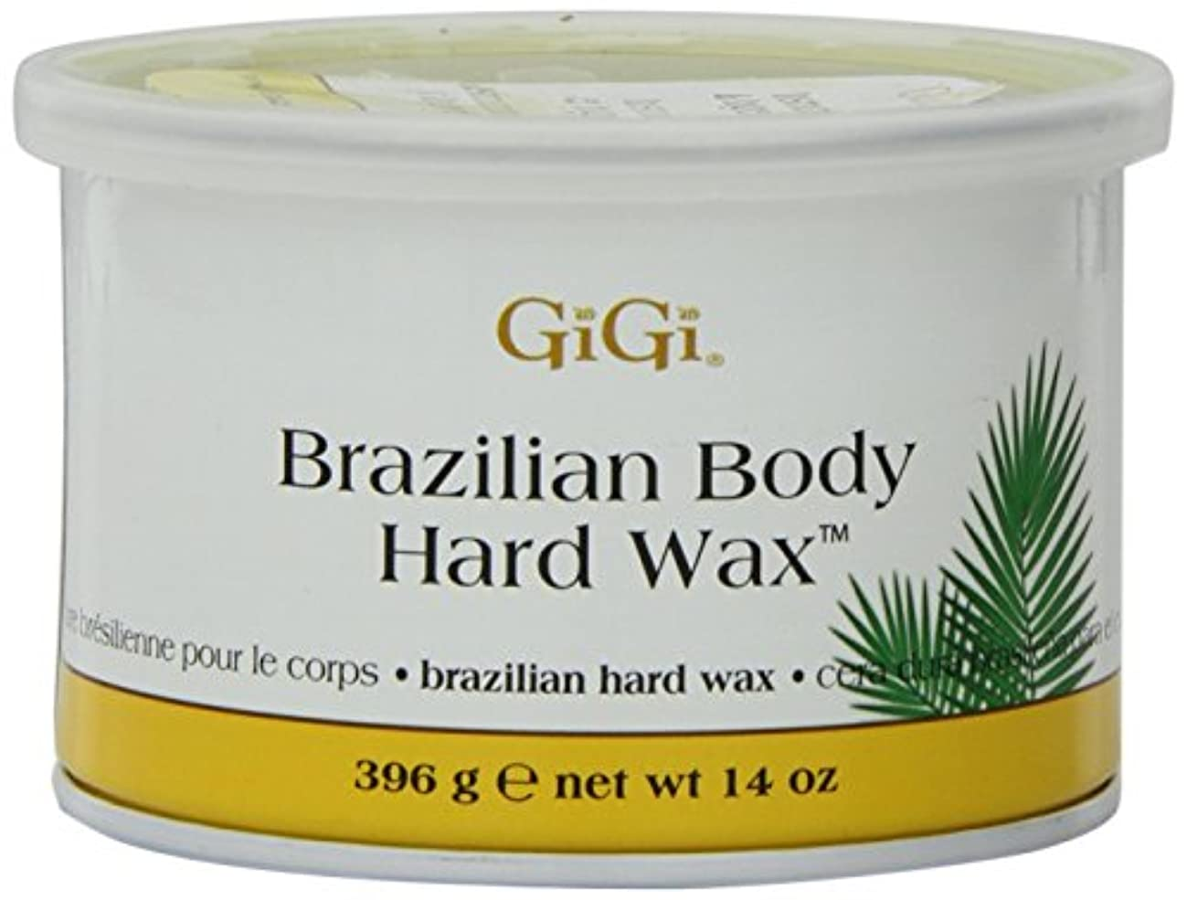 Gigi Tin Brazilian Body Hard Wax 14oz (6 Pack)