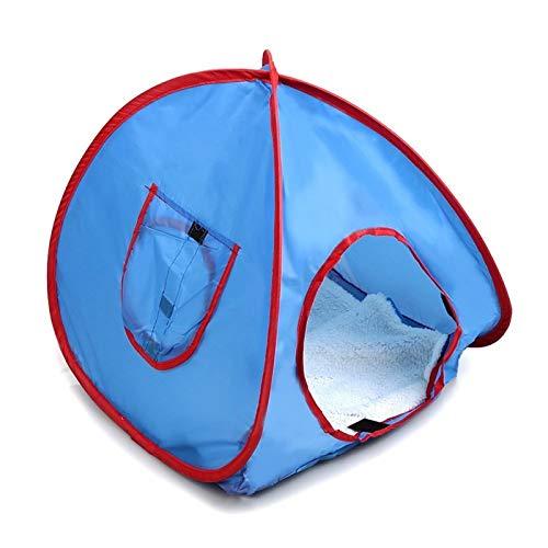GCSEY Nieuwe kleine pop-up camping tent kleine dieren tent konijnenbed