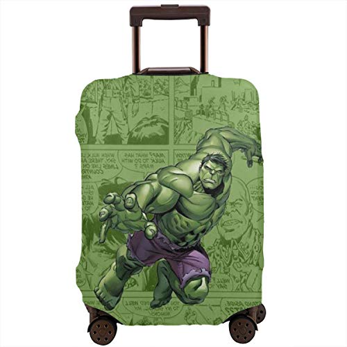 Travel Luggage Cover Cute Hulk Suitcase Protector Washable Baggage Covers 18-32 Inch