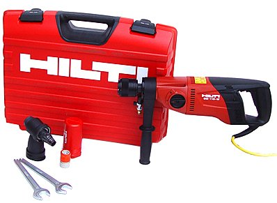Hilti 03476075 DD 110-W Hand Held Dry Diamond Coring Tool System with Case
