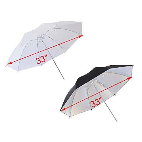 Emart 750w Professional Photographic Studio Strobe Flash Light Kit - Barn Door, Soft Boxes, Umbrellas, Stands, Lamps, Trigger & More