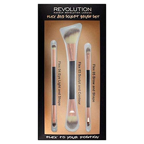Revolution Flex & Sculpt - Juego de brochas