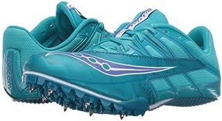 [サッカニー] レディース 女性用 シューズ 靴 スニーカー 運動靴 Spitfire 4 - Teal/Blue [並行輸入品]