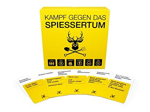 Kampf gegen das Spiessertum - das fiese deutsche Kartenspiel für Leute mit schwarzem Humor