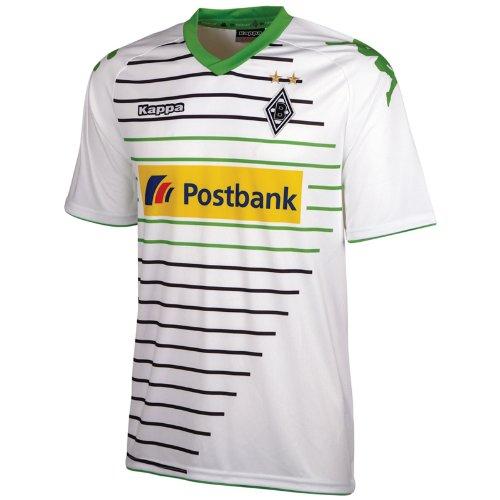 Kappa Herren Trainingsshirt Borussia Mönchengladbach Trikot Home, White, 3XL