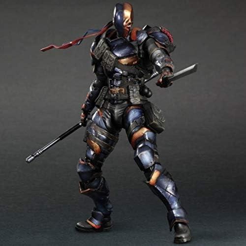 DEATHSTROKE batman Figuren Modell Actionfigur 28 cm + Gadgets