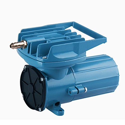 HEALiNK DC 12V 38LPM/Min 602GPH Aquarium Air Pumps Compressor Aerator 18W for Aquaculture Fish Pond