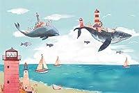 2000個の木製大人のパズル、減圧レ組み立てゲーム、最高のホリデーギフト- クジラの家(75*105cm)