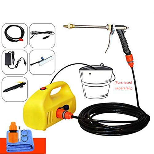 SSZZ Household auto draagbare elektrische reinigingsborstels wisserbladen Water Gun Auto accu lithium-accu waterpomp