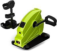 ペダルエクササイズバイク、アンダーデスクバイクペダルエクササイズ、腕/脚運動用の磁気ミニエクササイズバイク、家庭/オフィスワークアウト用の電子理学療法リハビリ自転車