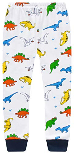 Truck Boys Pajamas Toddler Sleepwear Clothes T Shirt Pants Set for Kids Size 2Y-7Y