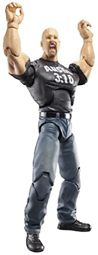 WWE Wrestling DELUXE Aggression Series 13 Action Figure Stone Cold Steve Austin [Breakaway Laptop] by Jakks Pacific