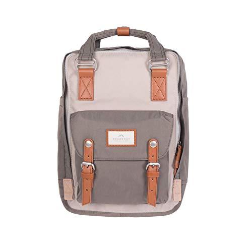 Doughnut MACAROON Rucksack Unisex 16L mit Laptopfach I Studenten-Rucksack funktionell & handgefertigt I ideal als Reise-Rucksack oder leichter City-Rucksack I Daypack (Bunt)