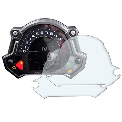 2 x Kawasaki Z400 Z650 Z900 2017> Tableau De Bord Protecteur d'écran: Ultra-Clear