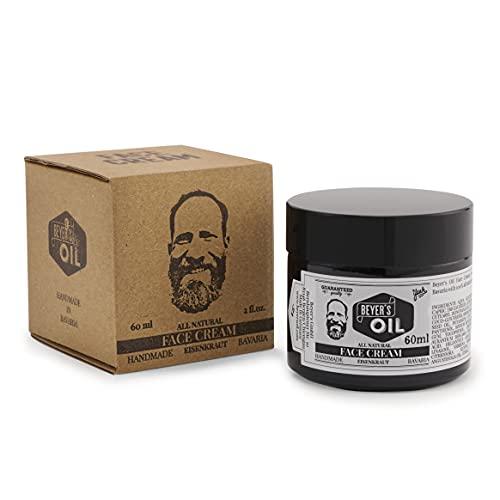 Beyer's Oil Gesichtscreme Eisenkraut - 100% natürlich - Zieht schnell ein und pflegt die Haut - Handgemacht in Bayern