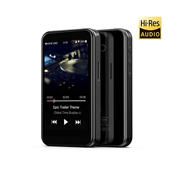 High Resolution Lossless MP3 Music Player with HiFi Bluetooth aptX HD/LDAC, USB Audio/DAC,DSD/Tidal/Spotify Support and WiFi/Air Play Full Touch Screen 6