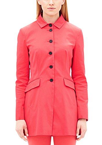s.Oliver BLACK LABEL Damen Jacke 11703563902, Rosa (Strawberry Red 4517), 38