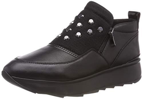 Geox D Gendry A, Zapatillas sin Cordones para Mujer