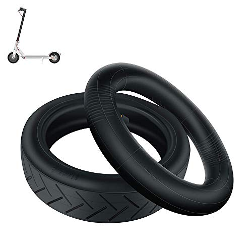 HZWDD Neumáticos Interiores y Exteriores inflables de 8 1/2X2, engrosados Resistentes al Desgaste y Antideslizantes, adecuados para Scooter M365/pro