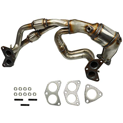 MAYASAF Catalytic Converter with Gasket Kit Exhaust Manifold for Subaru 2006-10 Forester, 2006-11 Impreza, 2006-09 Legacy, 2006-09 Outback