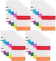 Lawei 800ピース タブ 2インチ スティッキー インデックス タブ - ページマーカー 色付きページタブ ブックマーカー 読書ノート ファイル分類 10色