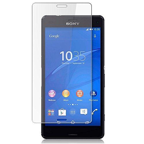 Sony Xperia Z3 Compact Pack Of 1 Templado superior de cristal Crystal Clear LCD Protectores de pantalla Packs Con paño de pulido y Tarjeta de aplicación por ONX3
