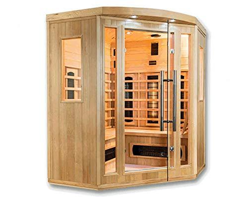 Cabina termica a infrarossi Salome Deluxe, per 4 persone