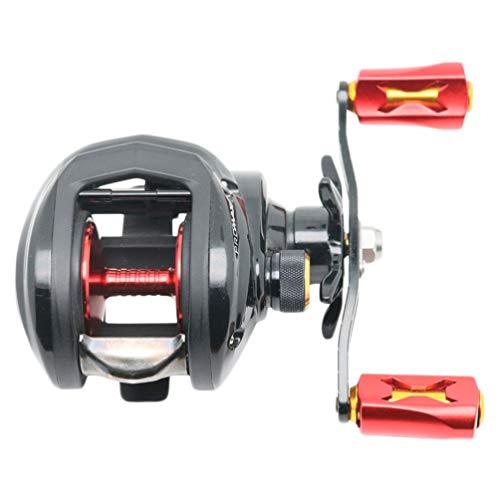 CLISPEED Carretel de Pesca Molinete de Pesca de Alumínio para Pesca Em água Salgada Ou de água Doce