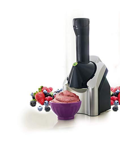 MZH Ice Cream Machines for Home Kids Ice Cream Machine Fruit Classic Original Healthy Dessert Fruit...