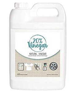 Bluewater Chemgroup 20% vinagre Blanco - 200 Grano vinagre Concentrado - 1 galón de Segura y Natural Multi-Uso vinagre Concentrado Industrial