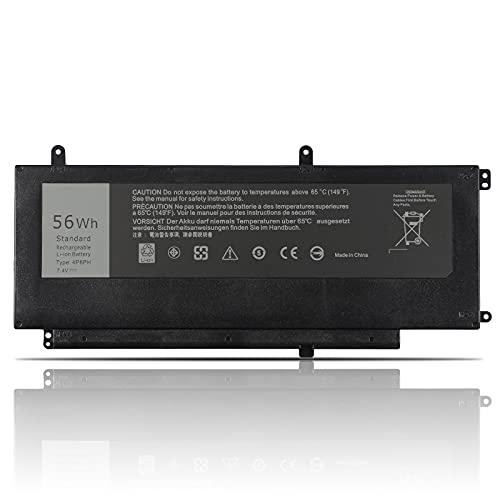 K KYUER 56WH 4P8PH Laptop Batería para DELL Inspiron 15 7000 7547 7548 Vostro 14 5000 5459 I7547-4020SLV I7548-2129SLV I7548-7286SLV W561214TH W560636TH N7548 N7547 4P8PH G05H0 0G05H0 OPXR51 D2VF9