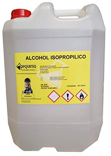 Alcohol Isopropilico 99,8% .Envase 25 Litros. Alta Pureza.
