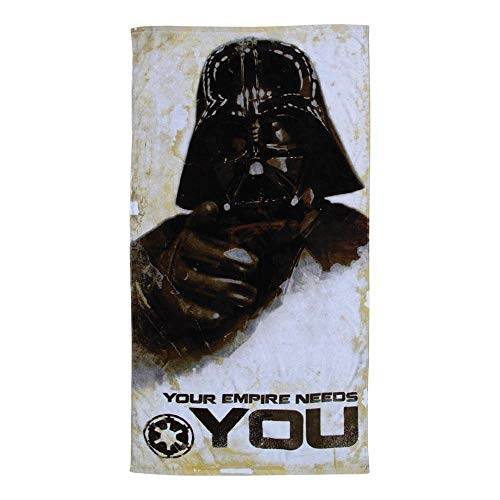 """Star Wars 30""""x60"""" Darth Vader """"Your Empire Needs You"""" Beach Towel"""