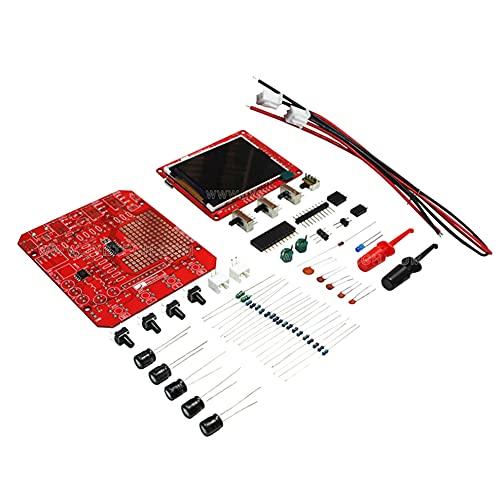 Pestelle DSO138Mini Kit de Osciloscopio Digital DIY Aprendizaje de Bolsillo ActualizacióN (Piezas de Repuesto)