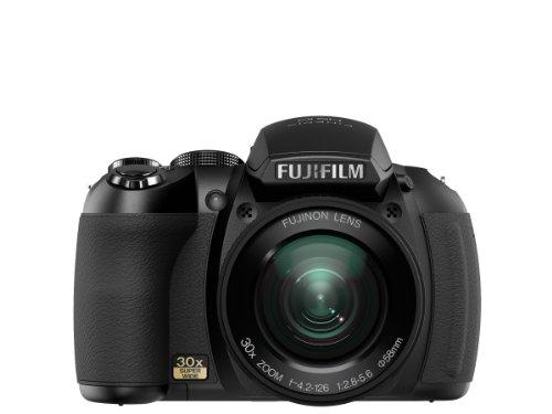 Fujifilm FinePix HS10 Digitalkamera - 10 Mpix 30x optischer Zoom - schwarz