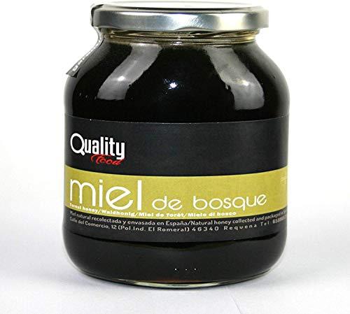 Miel pura de abeja 100{300ba9c675bcb8ce5db3ee8efc4e03986d03b6783478fcf85d9d30d9a2f77f3b}. Miel cruda de Bosque. 1 Kg. Producida en España. Sin pasteurizar ni calentar. Artesana de alta calidad. Tarro de cristal. Gran variedad de exquisitos sabores.
