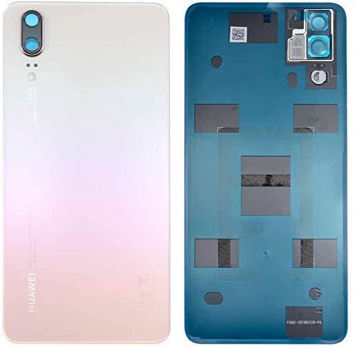 SPES Original Akkufachdeckel Backcover Rückseite für Huawei P20 (Kein P20 Pro) Akkudeckel Gold/Pink